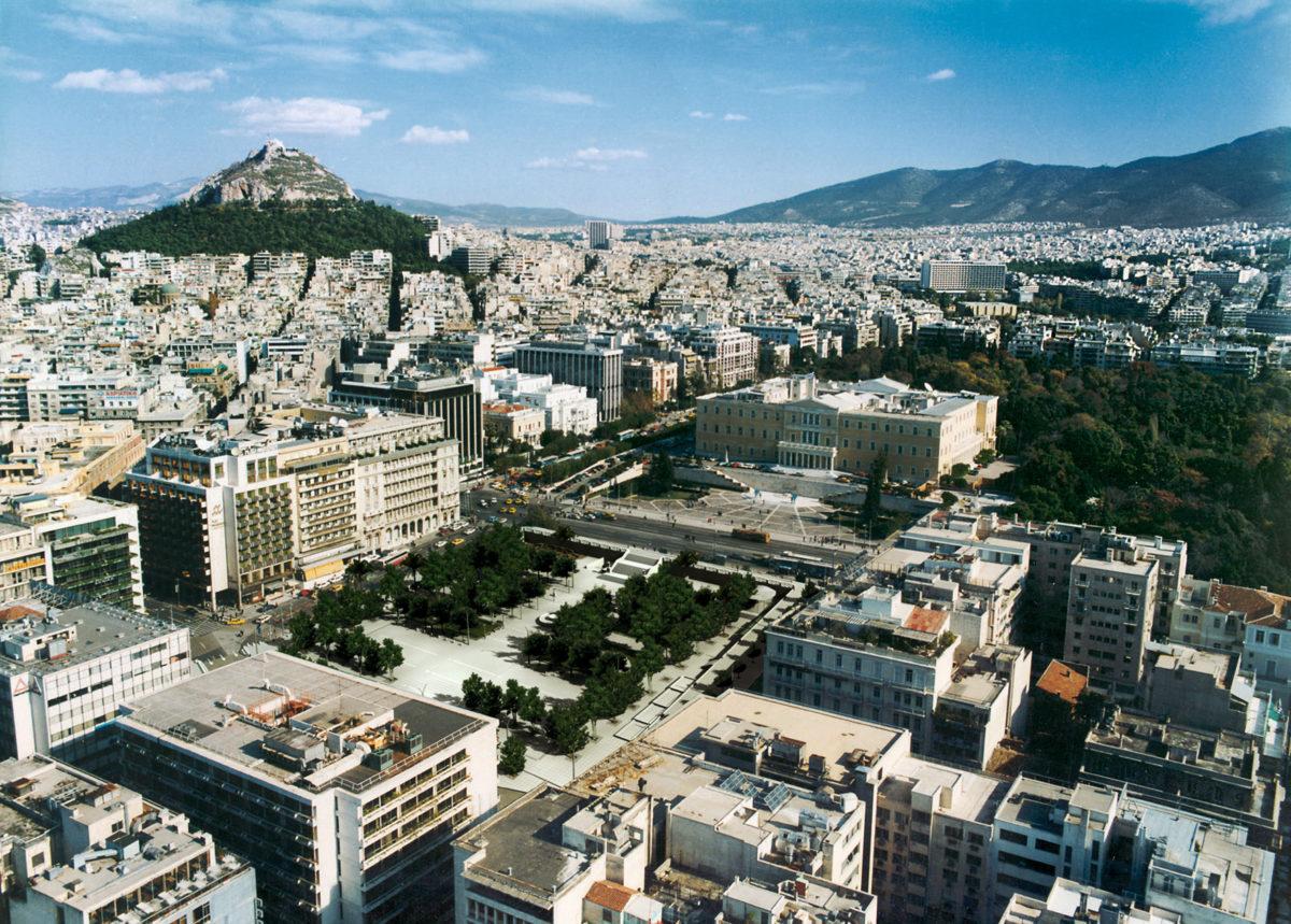Syntagma Square, 2000-2004.