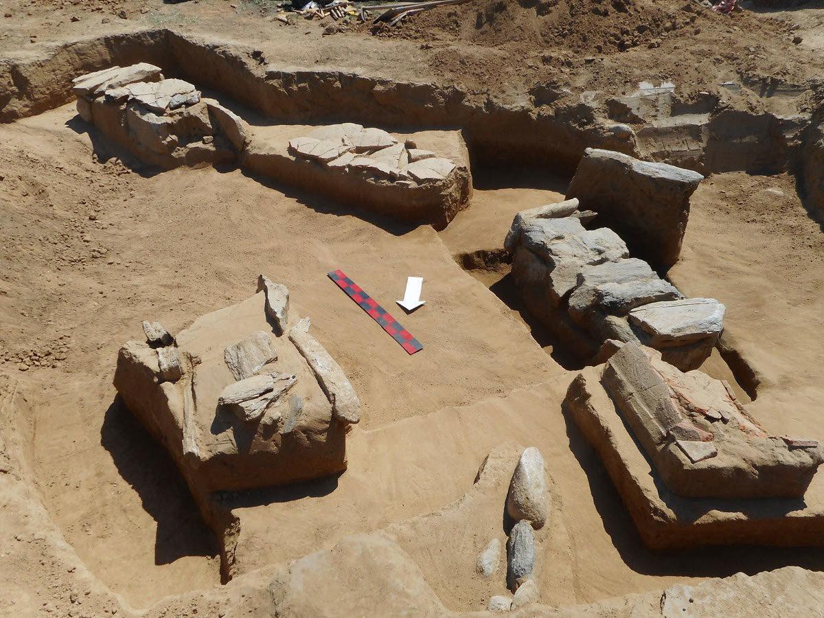 Galini, Roman graves. Photo credit: Trans Adriatic Pipeline (TAP) AG.