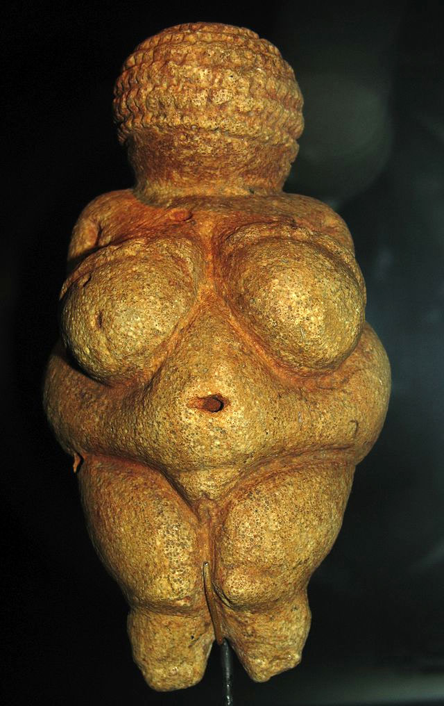 The Venus of Willendorf.