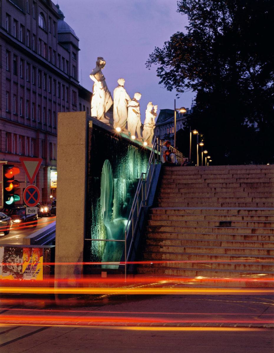 Remodelling of Esterhazy Park, Vienna, 1998-2000.