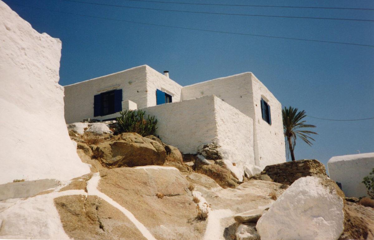 Summer residence, Chora, Ios, 1975.