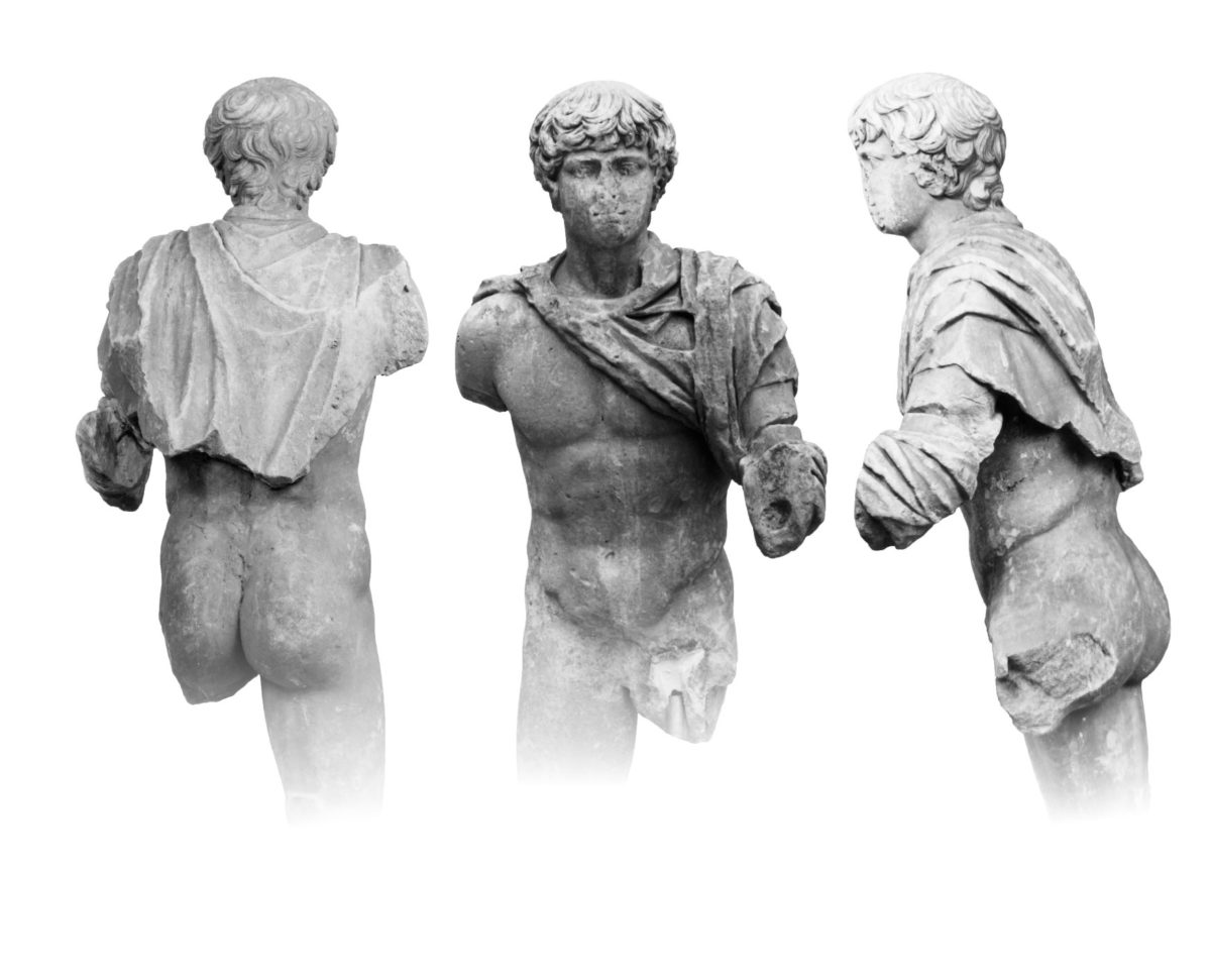 The youth of Mantineia (Photographic Archive of the National Archaeological Museum).