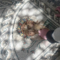 Analysing the famous 'mosaico de los amores'