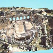 3D representation of Ancient Corinth and other monuments