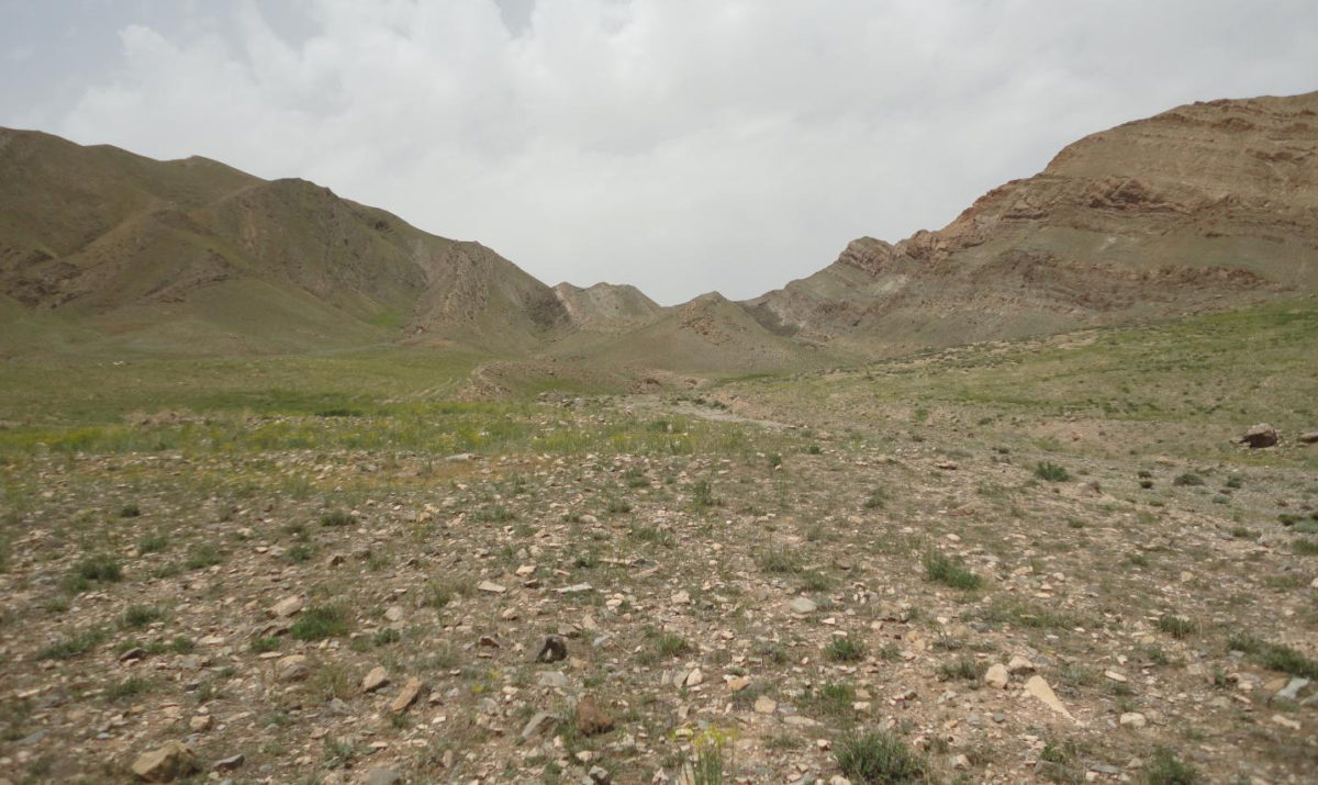 This is the collection site for the sediments used in this study, located near the village of Zal in East Azerbaijan Province, Iran. Image credit: Sylvain Richoz