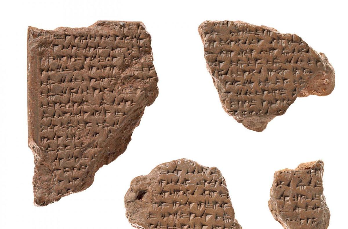 Oldest-preserved peace treaty between Ramesses II and Ḫattušili III © Staatliche Museen zu Berlin, Vorderasiatisches Museum, Foto: Olaf M. Teßmer