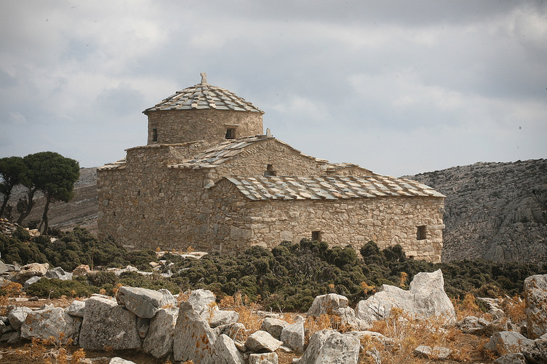 The Byzantine Church of Hagia Kyriaki, Naxos, Greece. Europa Nostra.