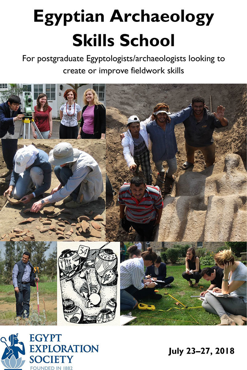 The Egyptian Archaeology Skills School is a great opportunity to introduce students to the various types of skills that are required on an excavation in Egypt and to give them the chance to discover whether they have an aptitude for particular parts of the work.