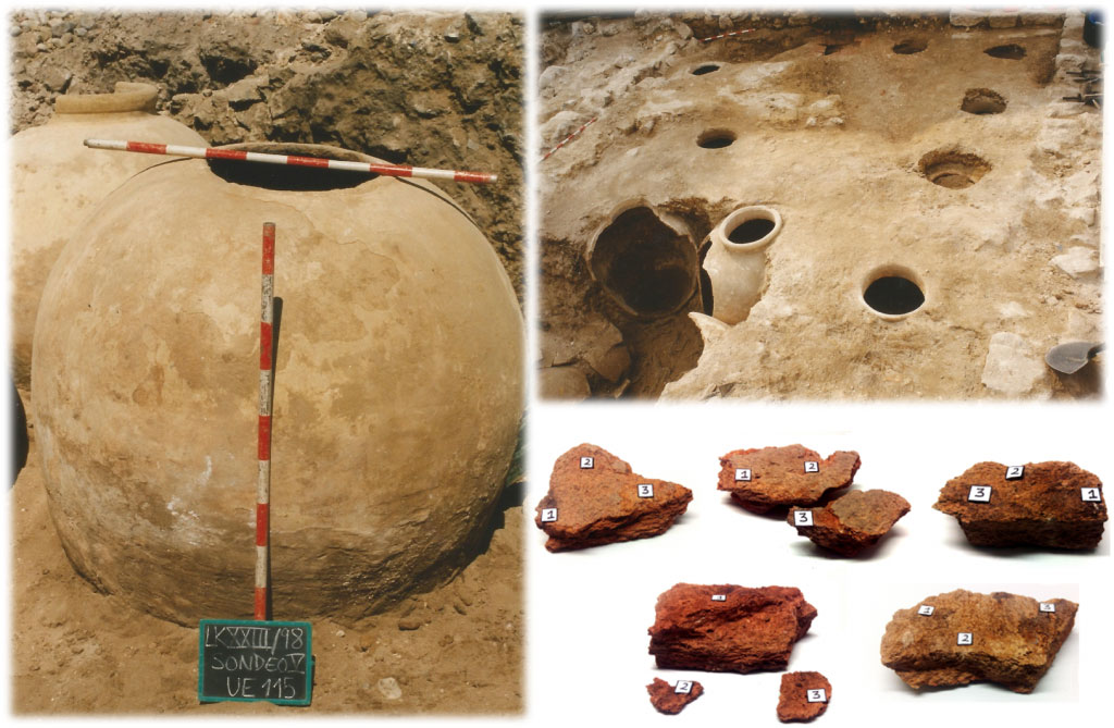 Archaeological ceramics found at the site in Lekeitio. Credit (Silvia Cajigas) (24).
