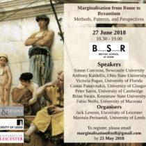 Marginalisation from Rome to Byzantium