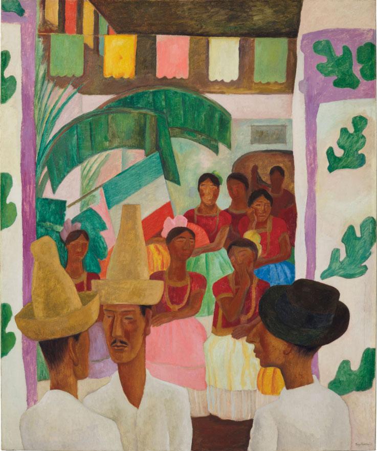 """Diego Rivera, """"Los Rivales"""" (photo: Christie's)."""