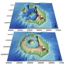 New study brings to life the ancient volcanic island Kameni