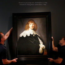 Unknown Rembrandt painting goes on display in Amsterdam