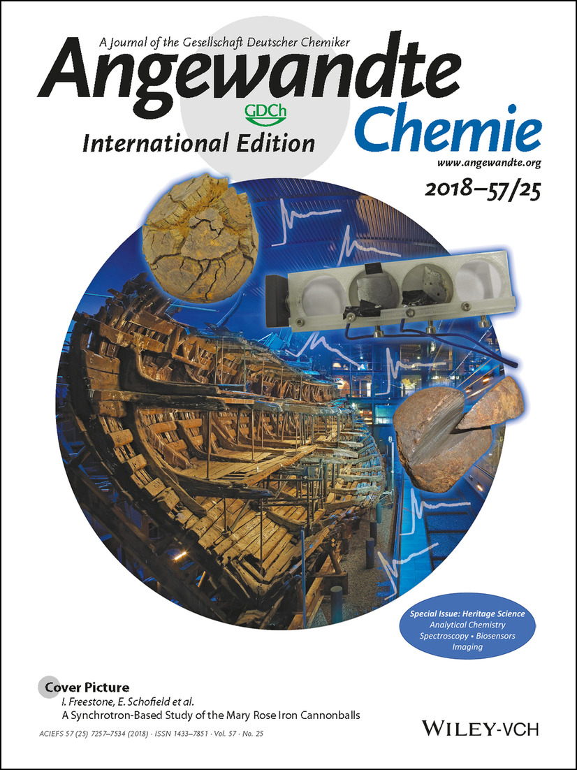 The Special Issue on heritage science published by the journal Angewandte Chemie.