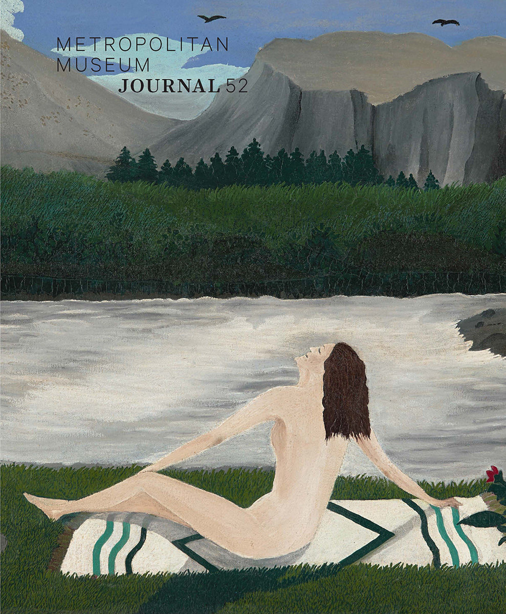 Cover of issue 52 of the Metropolitan Museum Journal.
