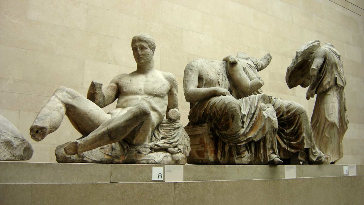 The Parthenon Marbles adorn the British Museum collection since 1816.
