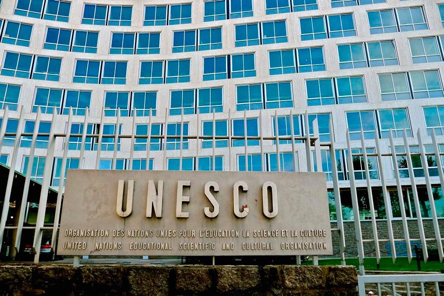 The UNESCO headquarters in Paris.