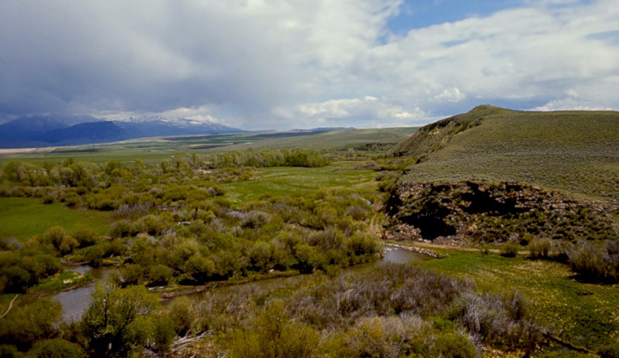 Anzick Clovis burial site – Image Credit : Anthro Research – License CC 3.0