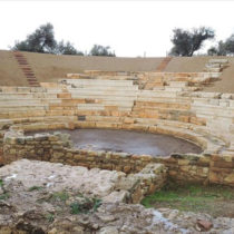 Chania's only restored ancient theatre in Crete