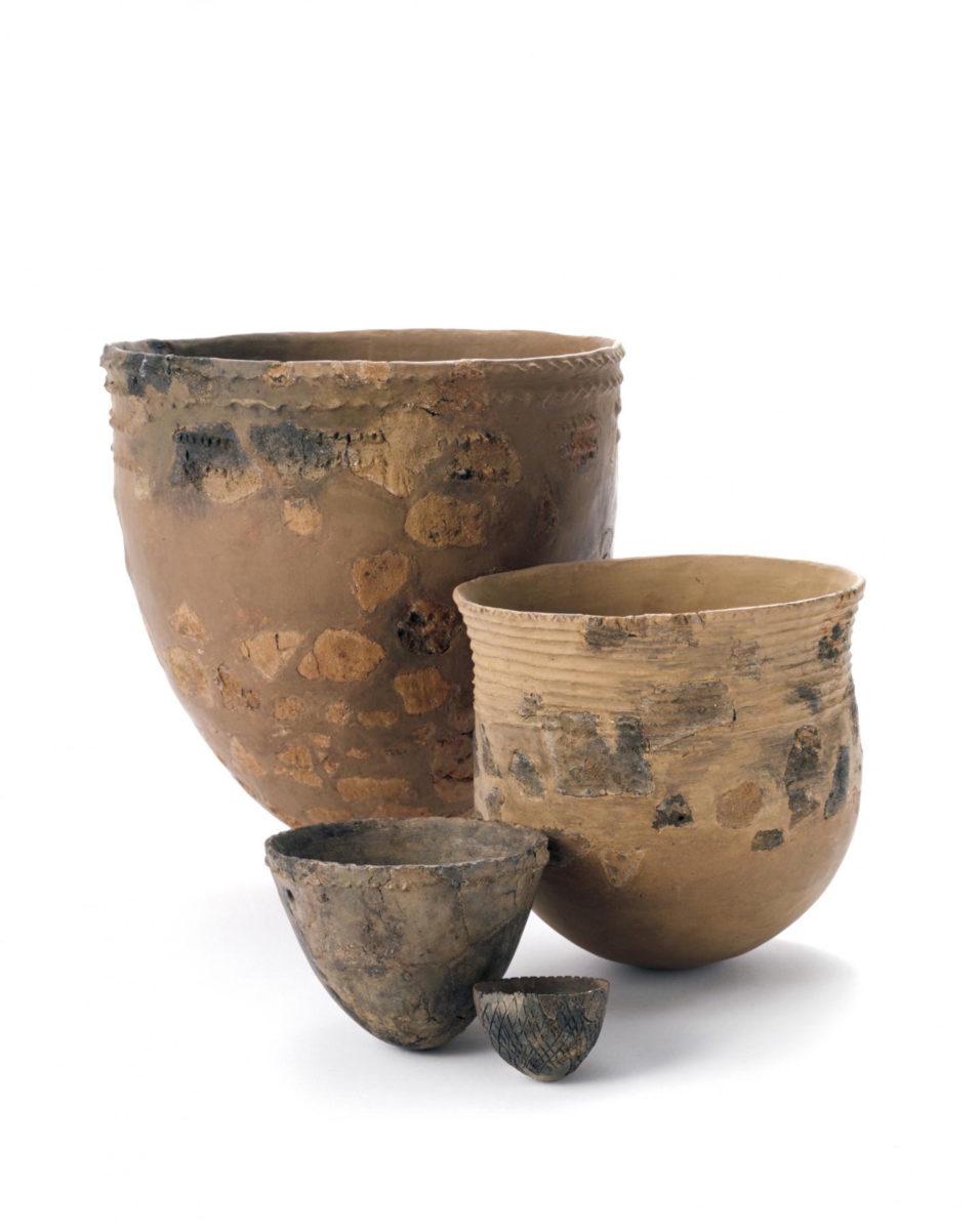 This is incipient Jōmon pottery from Hanamiyama site, Yokohama-shi, Kanagawa Prefecture, Japan. Credit: Nara National Research Institute for Cultural Properties