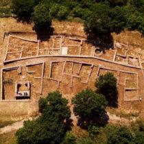 An ancient city at Palatiano, Kilkis