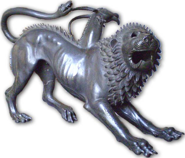 The Chimera of Arezzo.