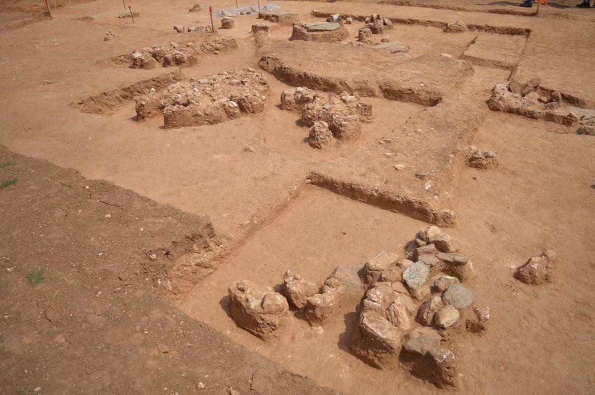 Assiros, early Christian graveyard.