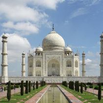 Concern about the Taj Mahal