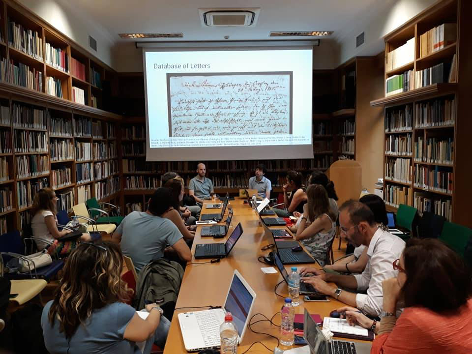 the Netherland Institute at Athens (NIA) hosted the Data Modelling Workshop