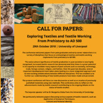 Exploring Textiles and Textile Working from Prehistory to AD 500