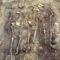 Genetic secrets of high-ranked warriors at a medieval German burial site