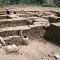 Huge building found in the Hid Al-Demerdash area