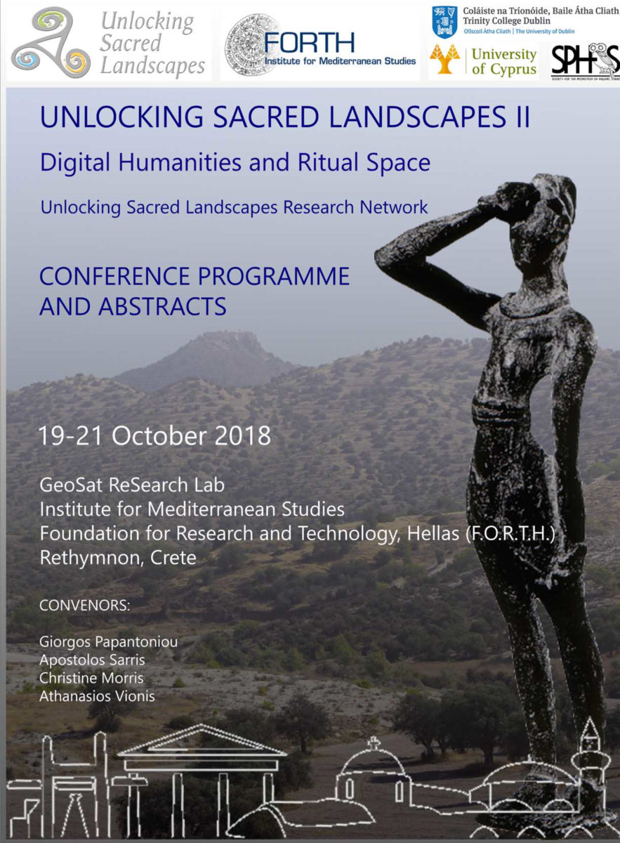 The meeting is co-organised by the Laboratory of Geophysical-Satellite Remote Sensing and Archaeo-environment in Crete, Trinity College Dublin, and the University of Cyprus.