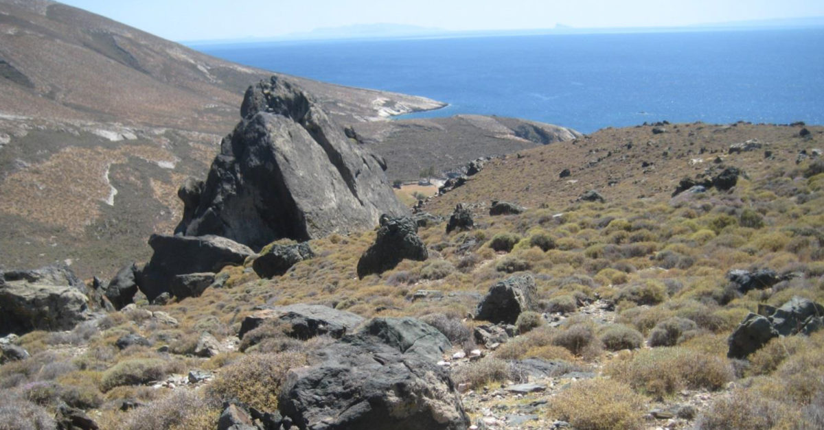 The largest known jadeite source in the Aegean is located on the Cycladic island of Syros.
