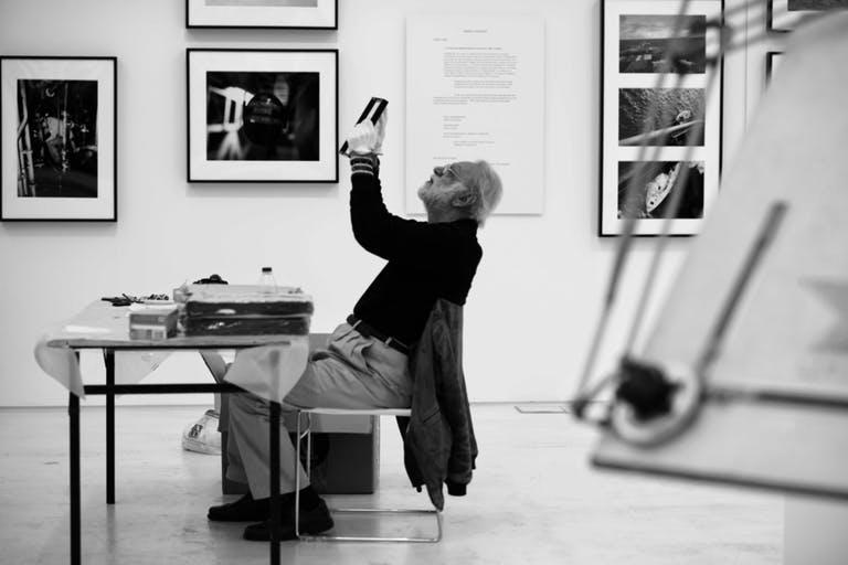 Dimitris Alithinos. (c)image: Giannis Vastardis, National Museum of Contemporary Art, Athens