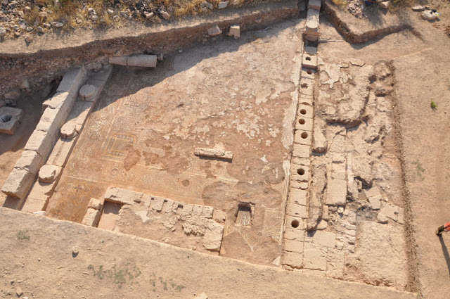 View of the excavated parts of the early Christian basilica. Credit: Asia Minor Research Centre