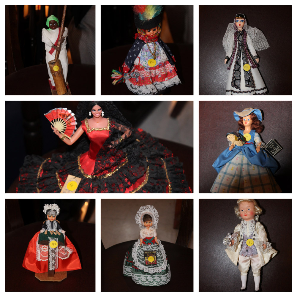 The Veria library houses a collection of collectible dolls with traditional costumes from around the world (photo: AMNA)