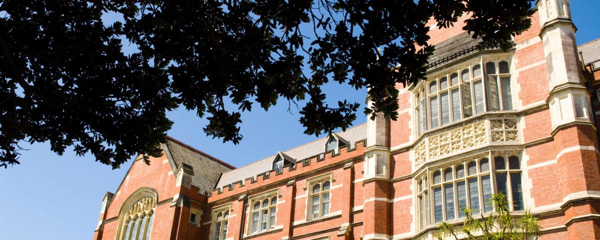 Victoria University of Wellington.