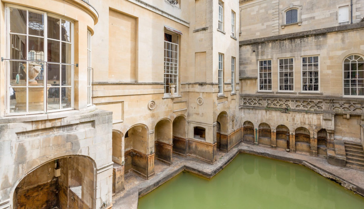 The King's Bath, credit Bath & North East Somerset Council.