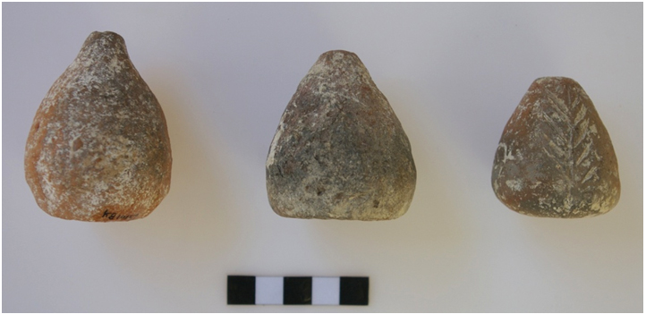 The recent excavations at Dhaskalio are bringing to light a wealth of metalworking finds, such as Tuyères.