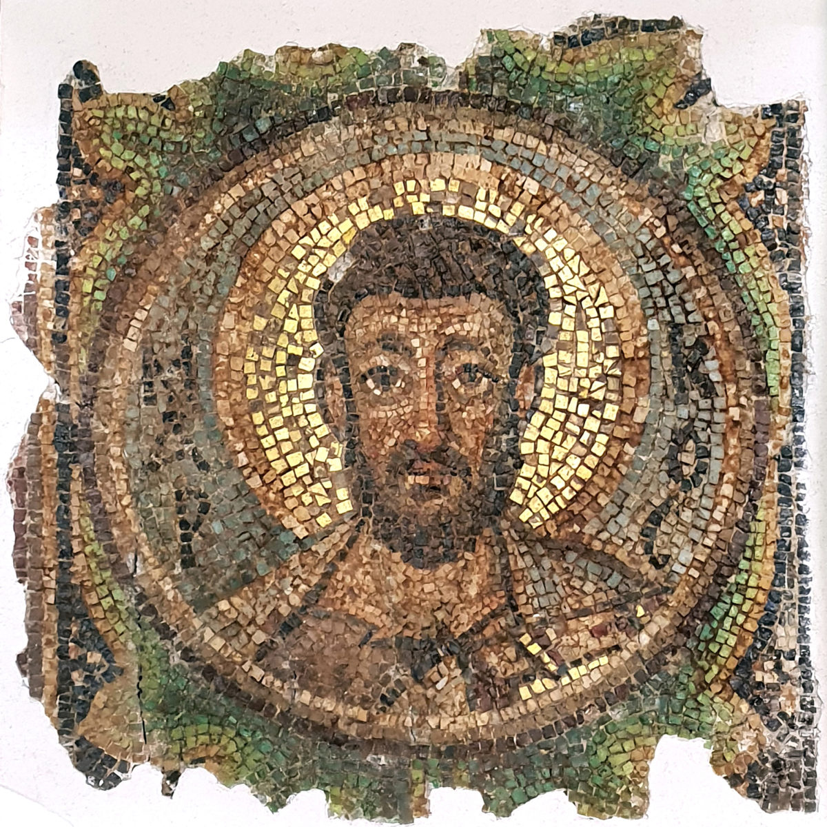 The mosaic of Apostle Markos.