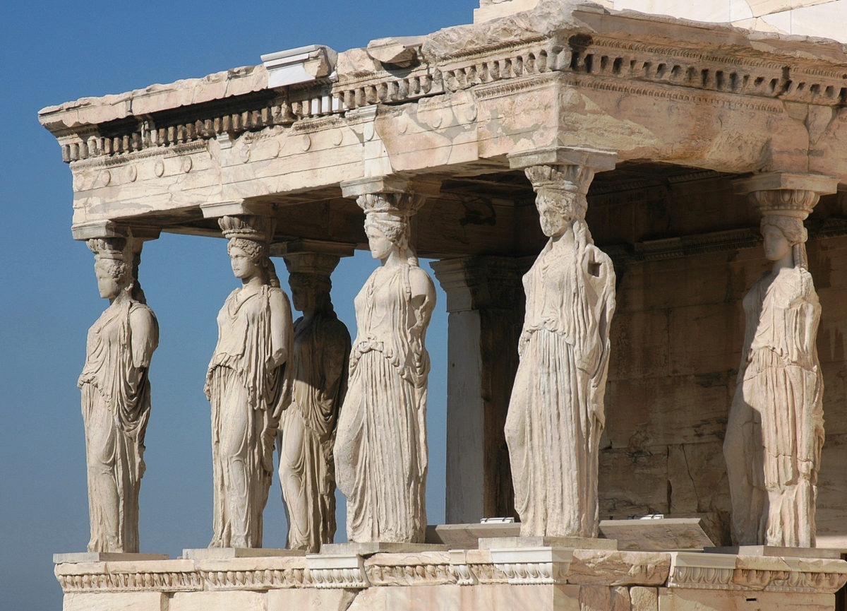 Porch of the Caryatids.