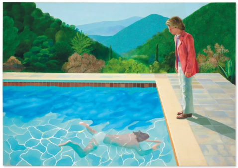 "David Hockney ""Portrait of an artist (Pool with two figures)"". © David Hockney."