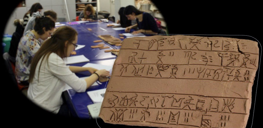 The course focuses on developing basic skills in writing and reading Linear B documents, exploring the workings of the administrative system that the script supported, and on the insights into economy, society and material production that data on the documents can offer in combination with archaeological data.