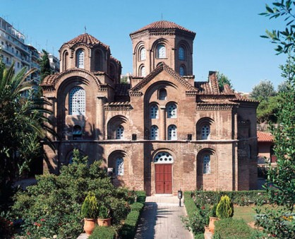The Church of Panagia Chalkeon in Thessaloniki. © 9th Ephorate of Byzantine Antiquities