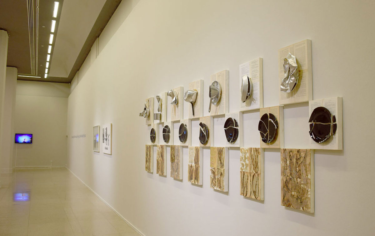 """View of the exhibition """"At the beginning was the word. Concepts - Images – Script"""" of the National Museum of Contemporary Art, Greece (EMST) showing at the National Art Museum of China (photo: EMST)."""