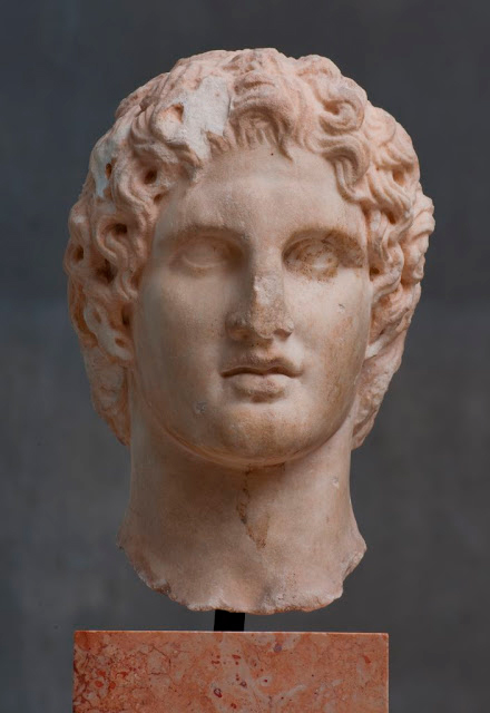 Portrait of Alexander the Great. Credit: Acropolis Museum, Athens