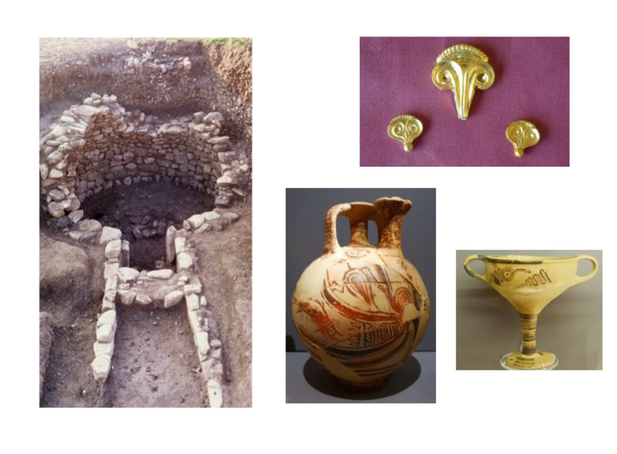 The interpretation of the architectural form and location of the tholos tombs at Cos, along with what remains of the looted grave goods, completes the picture of Mycenaean Cos, which lies at the important crossroads of the Aegean, leading towards Asia Minor, the NE Aegean, the Cyclades, mainland Greece and Rhodes, the gate to the East Mediterranean.