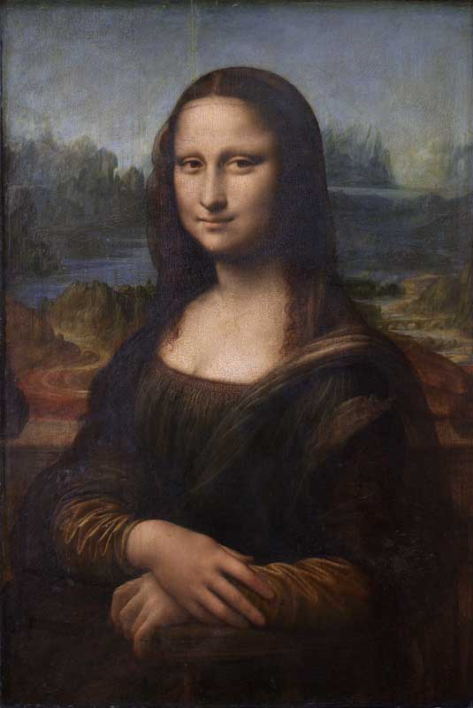 The Mona Lisa by Leonardo Da Vinci.