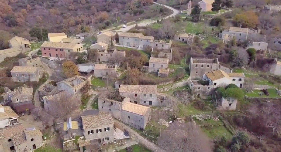 View of Palia Perithia (photo: Athens and Macedonian News Agency).
